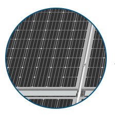 PERC double-sided solar module